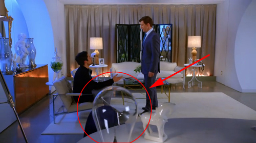 Blow lamp On Ugly Betty