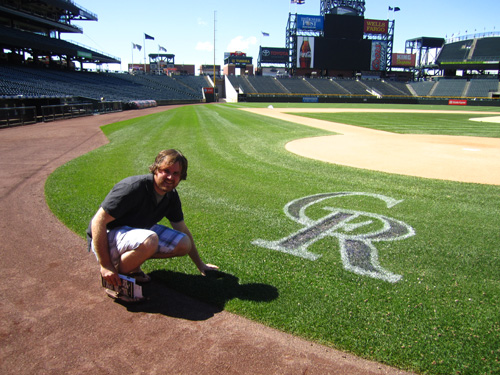 Alex at Coors Field
