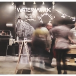 Watermark Designs exhibits in New York at ICFF 2014 and debuts newest collection named Elan Vital. Their charmingly hip and interactive booth concept is one of the show's highlights, with constant traffic and visitor engagement.