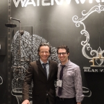 David Schlocker, founder and president of DRS and Associates, and Avi Abel, president of Watermark Designs, celebrate a successful event.