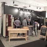 Day one of ICFF showing full booth concept.