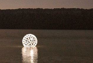 Technology Meets Sustainable Art with Les Jardins Solar Lighting
